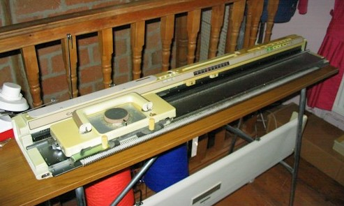 knitmaster 550 electronic machine