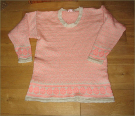 4 ply fairisle jumper