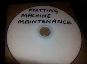 DVD on knitting machine mainteneance