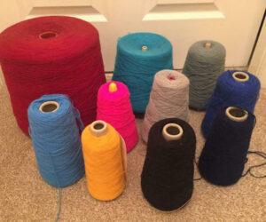 plenty of practise yarn