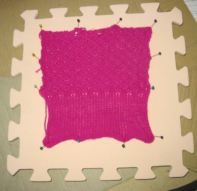 trying a tuck stitch