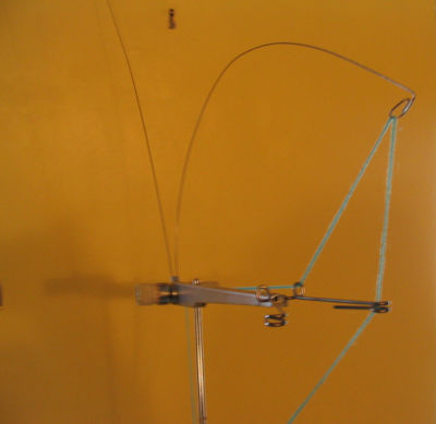 shows tension mast gap